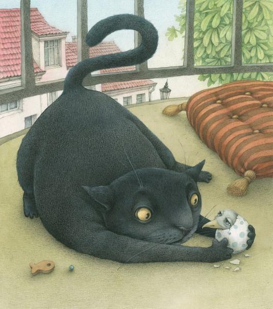 Lina Dūdaitė - Apie žuvėdrą ir katiną, kuris išmokė ją skraidyti