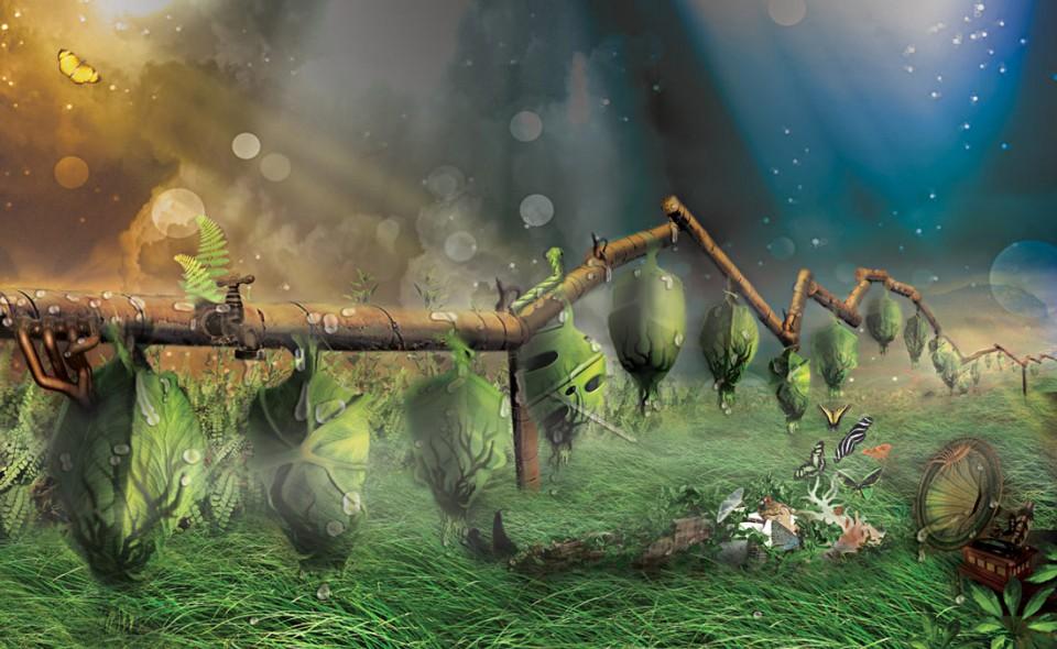 Nature Ex machine II dalis: Miegantys kokonai
