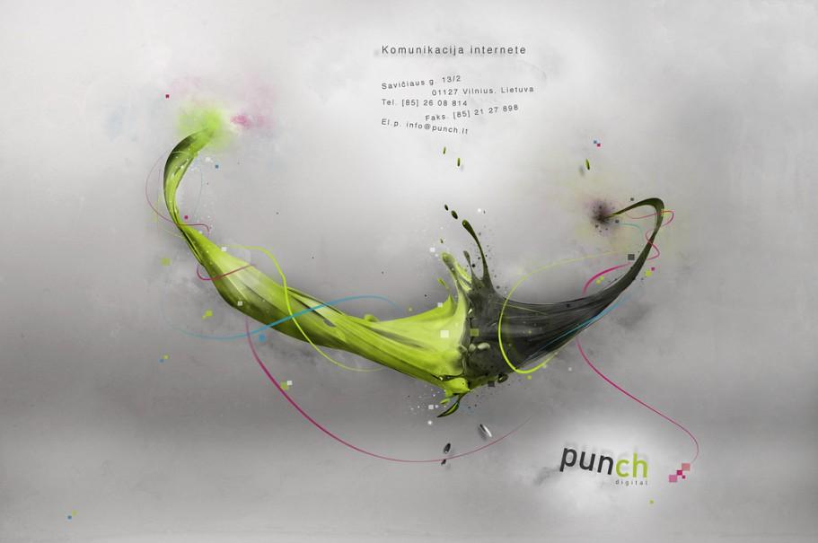 Punch Digital web Banner