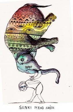 Jolitos piešinys