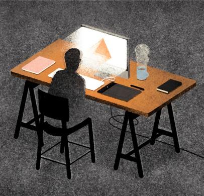 """Iliustracija """"Creative Review Editorial"""""""