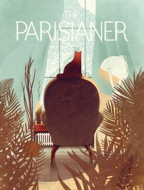"""Viršelis """"Parisianer"""" žurnalui"""