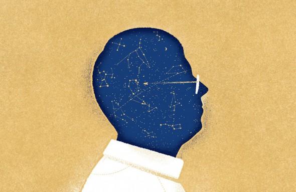"Iliustracija ""Sky and Telescope"" žurnalui"