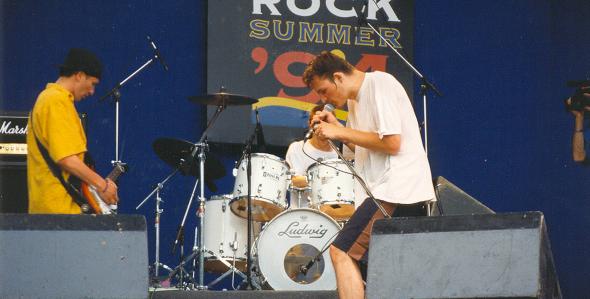 "Lygiailyja festivalyje ""Rock Summer"" Taline - foto: grupės archyvas"