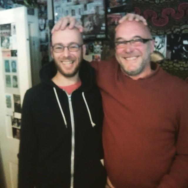 (iš kairės) Paulius Burakas ir Adrian Sherwood