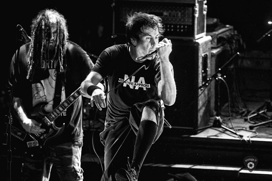 Napalm Death - foto: Gediminas Bartuška / onstage.lt