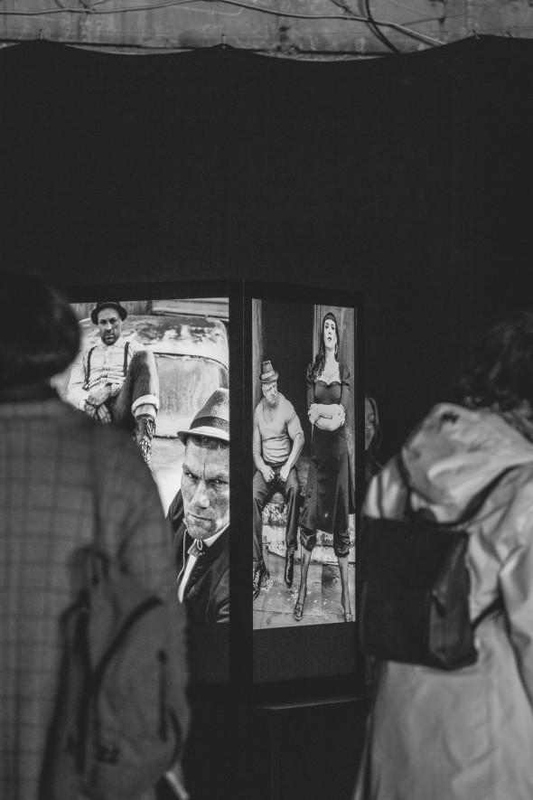 Sven Marquardt paroda - foto: Aneta Urbonaitė