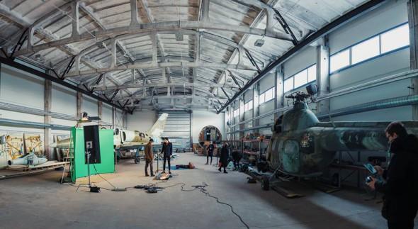 """""""Scuared"""" filmavimo užkulisiai - foto: Gytis Vidžiūnas"""