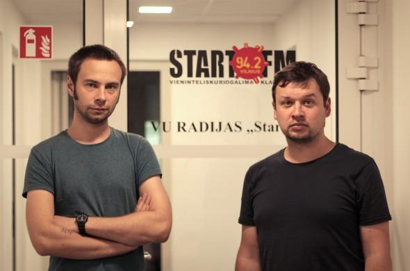 (iš kairės: Rimantas Murza ir Povilas Šklėrius - foto: Ignas Vėželis