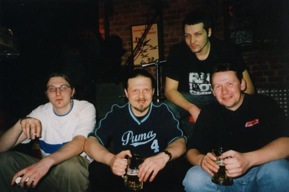 Mountainside 2002 - foto: grupės archyvas
