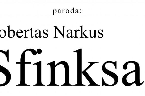 Robertas Narkus_Sfinksas_Editorial